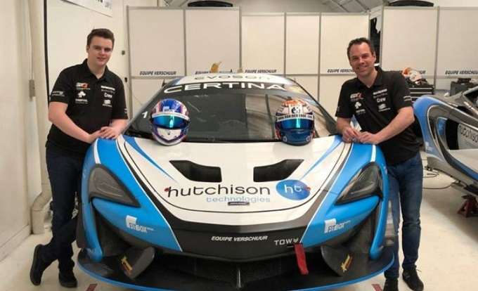 Hutchison & Van der Ende join for 2018 GT4 European Series